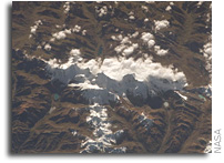 NASA International Space Station Imagery: Cordillera Huayhuash