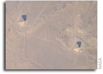 International Space Station Imagery: Pyramids of Dashur, Egypt