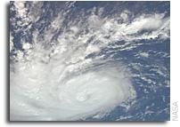International Space Station Imagery: Hurricane Bertha