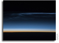 International Space Station Imagery: Polar Mesospheric Clouds