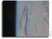 International Space Station Imagery: Cape Farewell, Greenland