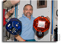 Challenger Center Presents: Science from Space! Richard Garriott demonstrates physics on the space station