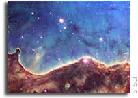 A Celestial Landscape in Celebration of 10 Years of Stunning Hubble Heritage Images