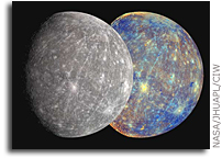 MESSENGER Spacecraft Reveals More Hidden Territory on Mercury
