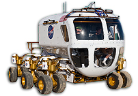 Michelin Teams With NASA On Lunar Rover for Inaugural Parade