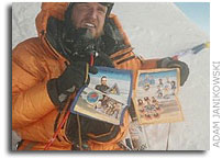 Challenger Crew, Astronauts, and Cosmonauts Remembered Atop Mt. Everest