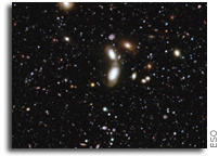 A Pool of Distant Galaxies - the deepest ultraviolet image of the Universe yet