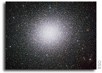 Omega Centauri - the glittering giant of the southern skies