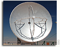 ALMA Observatory Equipped with its First Antenna NRAO