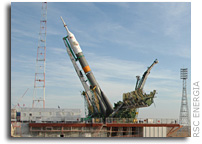 Photo Report: Soyuz TM-13 Moved to Launch Site