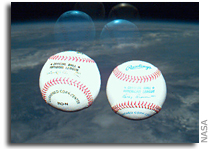 Yankee Baseball In Space: Not Exactly A First