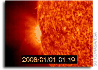 Joint USAF/NOAA Report of Solar and Geophysical Activity 31 Dec 2007