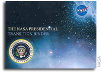 NASA Presidental Transition Action Item Log