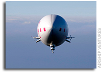 NASA Welcomes Airship Ventures Zeppelin To Moffett Field