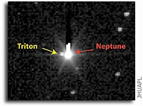 New Horizons Detects Neptune's Moon Triton