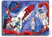 NASA Art Contest Winners Draw on Their Young Imaginations