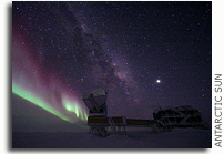 Benign Space: South Pole offers ideal location to observe the mysteries of the universe