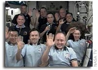 Remarks by The President With The Crew of the Space Shuttle and Space Station (Transcript) 24 March 2009