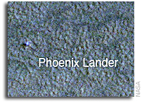 A Change of Seasons: A New Image of Phoenix on Mars from NASA's Mars Reconnaissance Orbiter