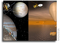 NASA and ESA Prioritize Outer Planet Missions