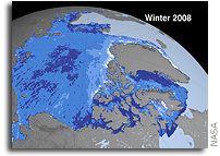 New NASA Satellite Survey Reveals Dramatic Arctic Sea Ice Thinning