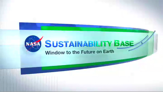 NASA Sustainability Base logo