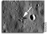 LRO Sends Back Images of Apollo Lunar Module Hardware On The Moon