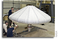 NASA Launches New Technology: An Inflatable Heat Shield