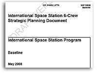 NASA International Space Station 6-Crew Strategic Planning Document