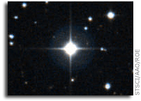 A Ninth-Magnitude Messenger From The Early Universe