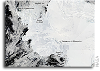 Earth Observatory Image of the Day: Antarctica