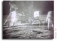NASA Holds Briefing to Release Restored Apollo 11 Moonwalk Video