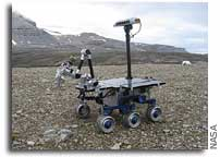 AMASE 2009: Testing Fovers for Future Mars Exploration: the Goddess Athena Drives in Svalbard