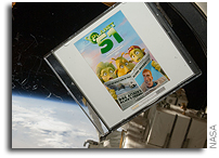 The International Space Station Discovers 'Planet 51'- Upcoming Animated Comedy Hitches Ride on Space Shuttle