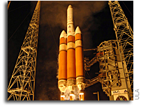 First ULA Delta IV Heavy NRO Mission Successfully Lifts Off From Cape Canaveral
