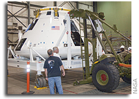 Orion Abort Flight Test Crew Module Departs Dryden For White Sands