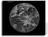 NASA and NOAA's GOES-14 Satellite Takes First Full Disk Image
