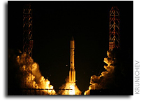 Proton Successfully Delivers Two New Russian Express-series Satellites into Orbit