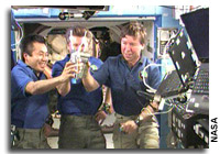 NASA Gives Space Station Crew 'Go' to Drink Recycled Water