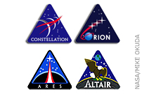 NASA Blog: NASA's Constellation Program Logos: It's All About the Stars