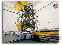 Engineers to Practice on Webb Telescope Simulator