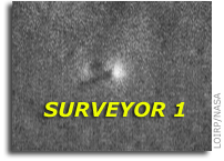 LOIRP Releases Recovered Lunar Orbiter III Image of Surveyor 1 on the Lunar Surface
