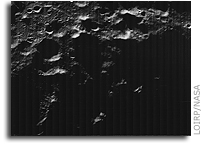 A New Look at an Old Image of The Moon's South Pole