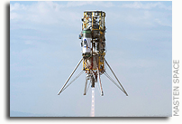 Masten Space Systems Successfully Completes Lunar Lander Challenge