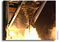 SpaceX Falcon 9 Upper Stage Engine Successfully Completes Full Mission Duration Firing