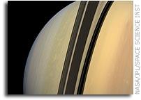 NASA Cassini Image: Shadow of Demarcation