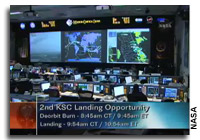 Weather Delays Space Shuttle Landing to Sunday