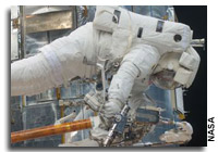 Atlantis Astronauts Complete Troublesome Fourth Spacewalk