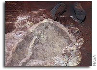 Mars Rover Yielding New Clues While Lodged in Martian Soil