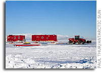 Traverse Across Antarctica To The South Pole May Employ Robotic Tractors in the Future